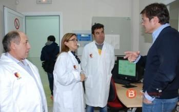 La presidenta de la diputación visita el consorcio de promoción de ovino en Villalpando