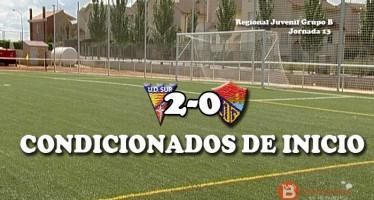 Un gol en el primer minuto, de la U.D Sur, lacra un buen partido del C.D Benavente juvenil