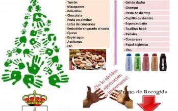 Campaña de recogida de alimentos del ayuntamiento de Benavente