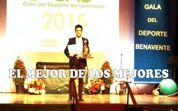 Y el Mejor Deportista Benaventano 2015 es… Sixto Vaquero