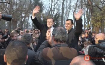 Fotografías de la visita de Mariano Rajoy a Benavente