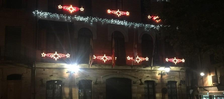 Benavente ya luce de navidad