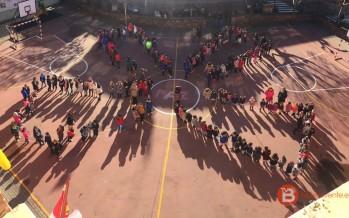 Los Colegios CEIP Las Eras y Virgen de la Vega se suman al día de la paz