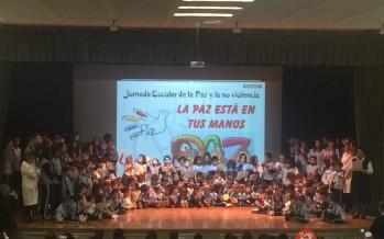 El colegio San Vicente de Paul celebra el día escolar de la paz y la no violencia