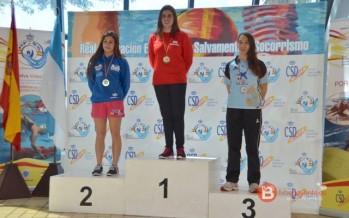 Carolina Ganado consigue dos bronces en el cto. de España de Salvamento y Socorrismo
