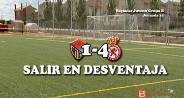 Un gol leonés en el primer minuto lastró al juvenil tomatero