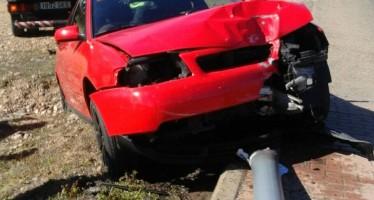 Accidente en la carretera del caracol en Benavente
