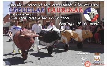 Escuelas taurinas en Benavente el próximo 3 de Abril