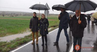 Inaugurada la carretera que une Brime de Sog con Uña de Quintana