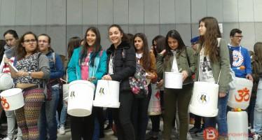 Alumnos del IES Los Sauces asisten al Primer Encuentro de Batukada en Valladolid
