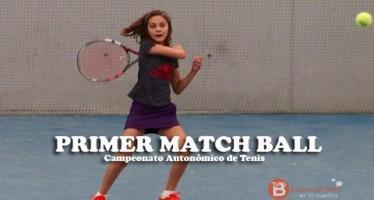 Thais Bolaños da primero en el autonómico cadete de tenis