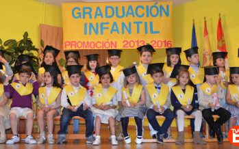 Graduación Infantil en el Colegio Virgen de la Vega de Benavente