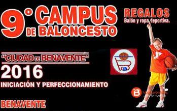 El Benavente Club Baloncesto abre el plazo de inscripción para su noveno Campus de Basket
