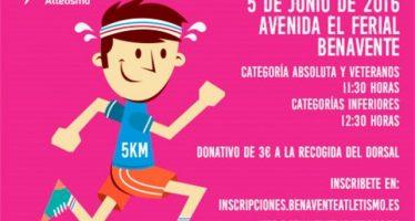 La carrera benéfica a favor de la Asociación de Fibromialgia se celebra el 5 de junio