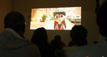 Noche de cine en Fuentes de Ropel