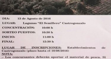 Concentración infantil: Jornada de iniciación a la pesca en Castrogonzalo