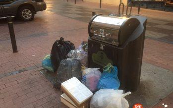 El PP pide la limpieza de los contenedores de basura
