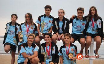 El Club Salvamento Benavente consigue 9 medallas en el IV Lifeguard Series de Gijón