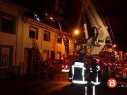 Un intoxicado por humo en el incendio de una vivienda en Villanueva del Campo