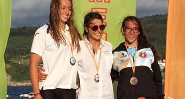 Carolina Ganado bronce en el Campeonato de España juvenil y junior