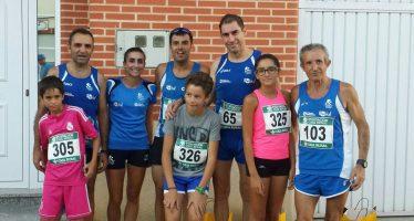 Atletas benaventanos en La Robla, Villafáfila y Santa Colomba de Carabias