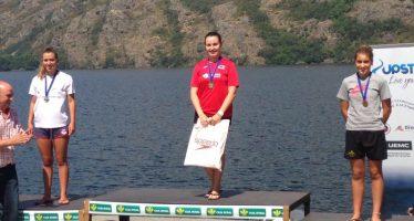 Dos oros para el Club Benavente Natación en la Copa de España de aguas abiertas