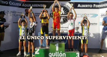 Sergio López tercero en la Copa Escuelas de Ciclismo en ruta.