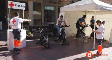Pedaleo Solidario en Benavente en la Semana Europea de la Movilidad