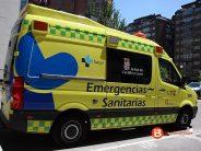 Dos heridos al volcar un camión en la A-52 a la altura de Mombuey (Zamora)