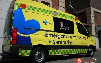 Herido un hombre de 57 años tras volcar su camión en Monfarracinos