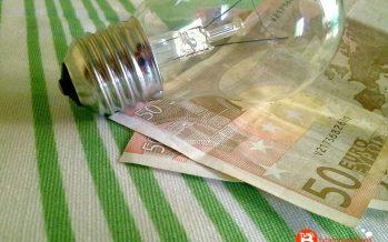 Bajada de precio en la factura de la luz con respecto al año 2015