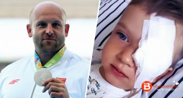 Subasta la medalla que ganó en Río para ayudar a un niño con cáncer