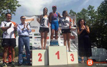 Nueva victoria de María José García en el Triatlón de Salamanca