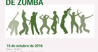 Masterclass Solidaria de Zumba el 15 de Octubre en Benavente