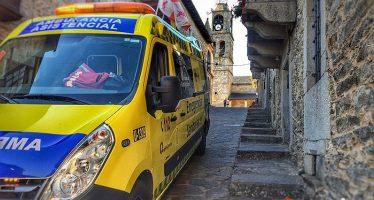 Una mujer de 50 años resulta herida en un accidente de tráfico en Sanabria