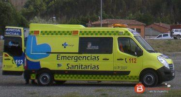 Tres personas han resultado heridas en un accidente en Toro (Zamora)