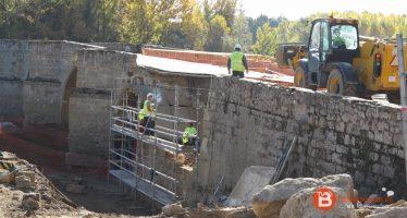 Las obras del Puente de Castrogonzalo ya llegan a su fin