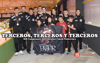 Taekwondo Benavente tercero en el Internacional de Pontevedra