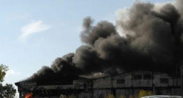 VIDEO: Incendio Granja Avícola Iberavi en Alija del Infantando