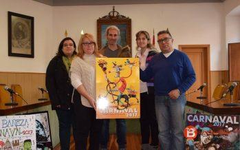 """""""Embrujada por el Carnaval"""" imagen del Carnaval de La Bañeza 2017"""