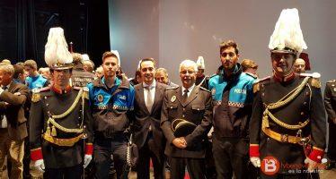 Entrega de medallas al mérito policial y protección en Miranda de Ebro
