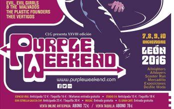 El Festival Internacional Purple Weekend vuelve este año a León