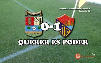 El Benavente, con gol de Mario Mateos, mojó al C.D Mojados