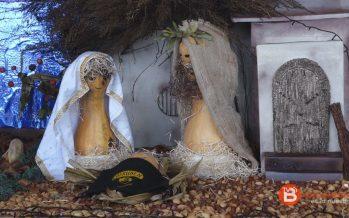 VIDEO: Belén de Navidad realizado con productos naturales en Cofruben