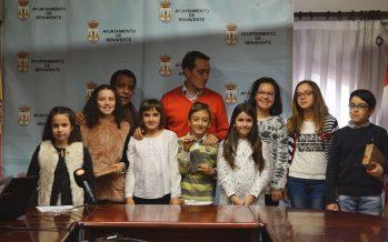 Ganadores y finalistas del concurso de postales navideñas en Benavente
