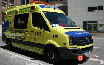 Tres personas heridas tras el vuelco de dos turismos en la A-66