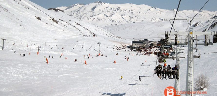 León vive sus terceras navidades sin nieve en las estaciones de esquí