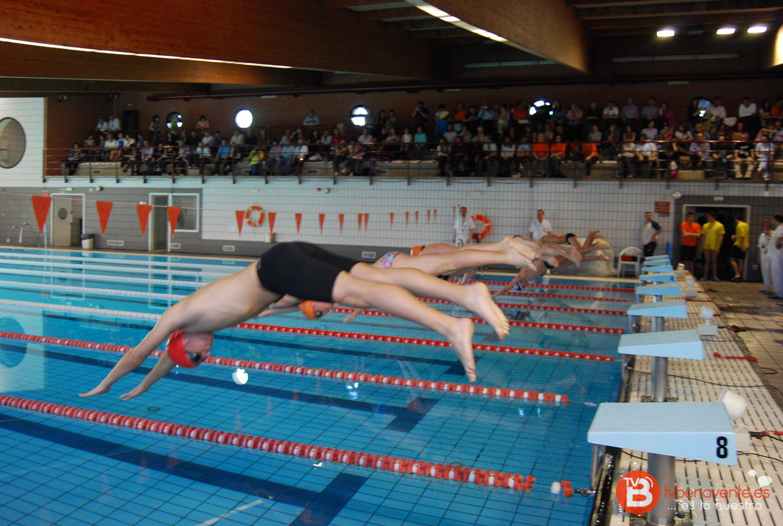 El club benavente nataci n se estrena en la categor a m ster for Piscinas benavente