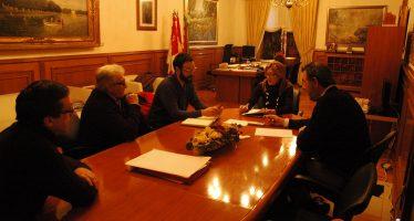 La Diputación recibe a los representantes de UCCL en Zamora