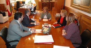 La Diputación y Cruz Roja estudian nuevas líneas de colaboración